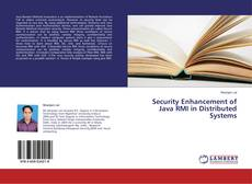 Bookcover of Security Enhancement of Java RMI in Distributed Systems