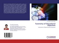Bookcover of Taxonomy of Educational Objectives
