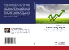 Bookcover of Sustainability Impact