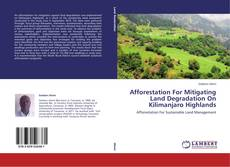 Bookcover of Afforestation For Mitigating Land Degradation On Kilimanjaro Highlands