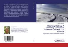 Buchcover von Meaning Making: A University Curriculum Framework for the 21st Century