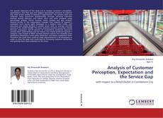 Bookcover of Analysis of Customer Perception, Expectation and the Service Gap