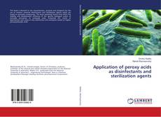 Couverture de Application of peroxy acids as disinfectants and sterilization agents