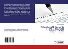 Capa do livro de Collocations Of Keywords Found In Insurance Research Articles