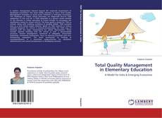 Copertina di Total Quality Management in Elementary Education