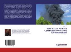 Capa do livro de Boko Haram And The Construction Of Islamic Fundamentalism