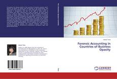 Buchcover von Forensic Accounting in Countries of Business Opacity