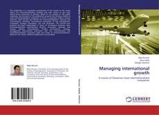 Обложка Managing international growth