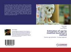 Bookcover of Estimation of age by modified Gustafson's method