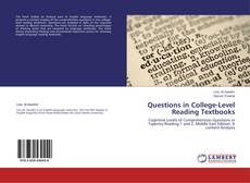 Обложка Questions in College-Level Reading Textbooks