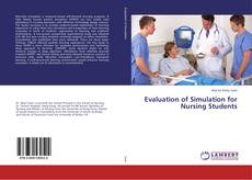 Bookcover of Evaluation of Simulation for Nursing Students
