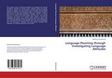 Buchcover von Language Planning through Investigating Language Attitudes
