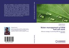 Bookcover of Water management of PEM fuel cell stack
