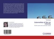 Buchcover von Externalities of the car industry