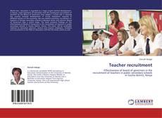 Capa do livro de Teacher recruitment