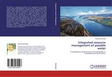 Buchcover von Integrated resource management of potable water