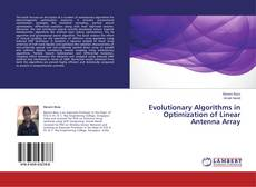 Bookcover of Evolutionary Algorithms in Optimization of Linear Antenna Array