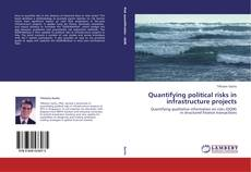 Quantifying political risks in infrastructure projects kitap kapağı
