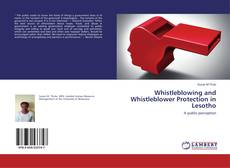 Capa do livro de Whistleblowing and Whistleblower Protection in Lesotho