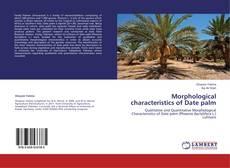 Morphological characteristics of Date palm kitap kapağı