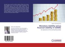 Capa do livro de Monetary stability versus financial stability in CEMAC