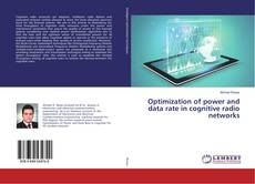Bookcover of Optimization of power and data rate in cognitive radio networks