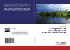 Buchcover von Management and Utilization of Water Resources in Maharashtra