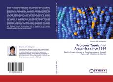 Bookcover of Pro-poor Tourism in Alexandra since 1994