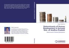 Buchcover von Determinants of Human Development in Kurnool Dist. of Andhra Pradesh