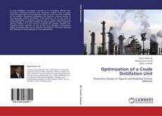 Portada del libro de Optimization of a Crude Distillation Unit