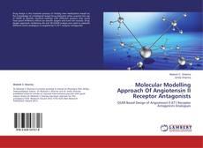 Capa do livro de Molecular Modelling Approach Of Angiotensin II Receptor Antagonists