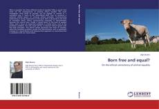 Buchcover von Born free and equal?