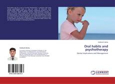 Couverture de Oral habits and psychotherapy