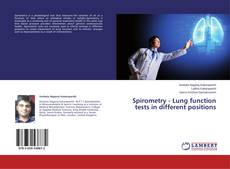 Bookcover of Spirometry - Lung function tests in different positions
