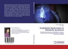 Endothelial Dysfunction In Metabolic Syndrome的封面