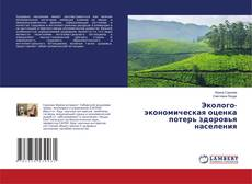 Buchcover von Эколого-экономическая оценка потерь здоровья населения