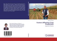 Bookcover of Factors Affecting Crop Production