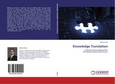 Copertina di Knowledge Translation