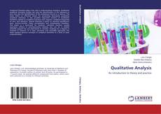 Couverture de Qualitative Analysis