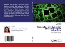 Copertina di Formulation and Evaluation of Microsponge of Aceclofenac