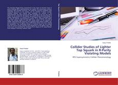 Bookcover of Collider Studies of Lighter Top Squark in R-Parity Violating Models