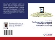 Bookcover of Foreign capital crowds-out domestic savings in developing countries