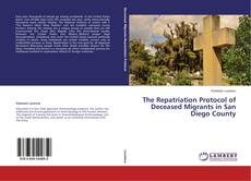 Portada del libro de The Repatriation Protocol of Deceased Migrants in San Diego County