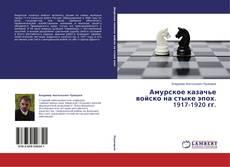 Couverture de Амурское казачье войско на стыке эпох. 1917-1920 гг.