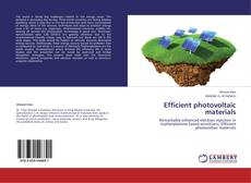 Bookcover of Efficient photovoltaic materials
