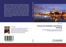 Buchcover von Financial Stability and Stress Testing