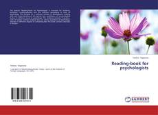Bookcover of Reading-book for psychologists
