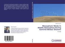 Bookcover of Mesospheric Winds In Middle Atmosphere During Geminid Meteor Showers