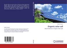 Bookcover of Organic solar cell