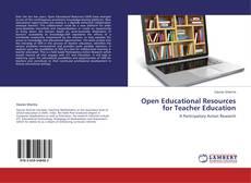 Open Educational Resources for Teacher Education的封面